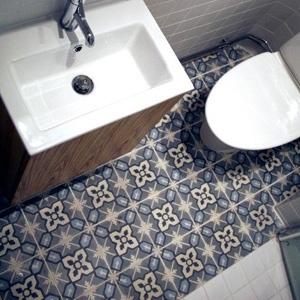 Badkamer | tegelvloer
