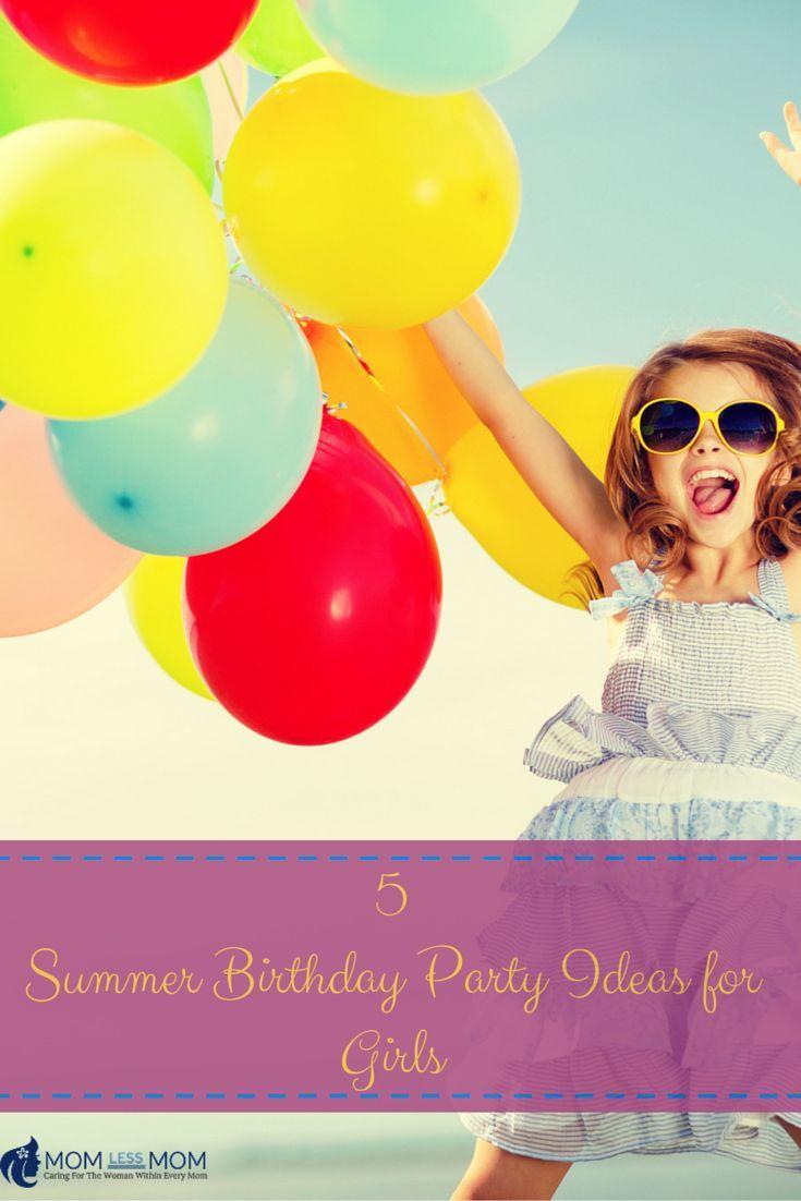 Kreative Sommergeburtstagsfeier-Ideen für Mädchen – #Geburtstag #Kreativ #Mädchen #Ideen #Party #S …