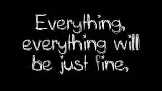 Jimmy Eat World- The Middle Lyrics, via YouTube.
