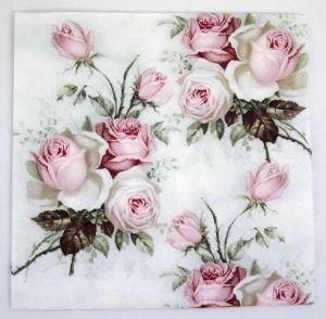 Servítka V3-Love rose