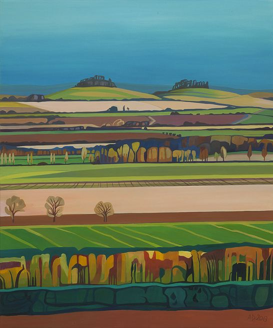 The Clumps at Spring - Anna Dillon