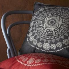 Pony Rider - Moroccan Char Cushion Cover