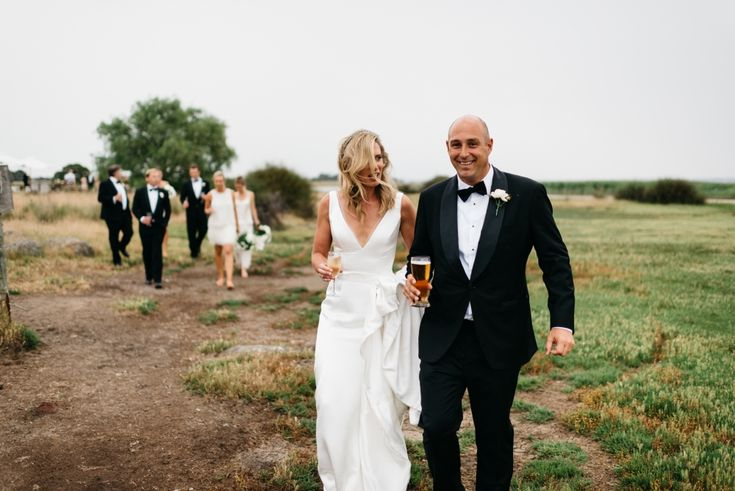 Stylish Marquee Wedding in Coonewarre - Polka Dot Bride   Photo by http://www.jeanbremner.com/