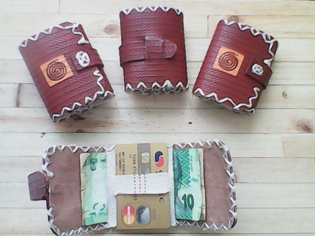 the latest in mini wallets by True Knysna Fire Hose Gear  order at trueknysna@gmail.com