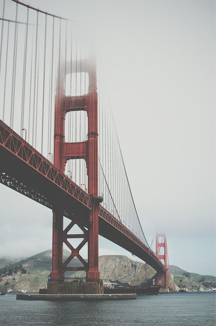 Bridge Golden Gate #USA #SanFrancisco