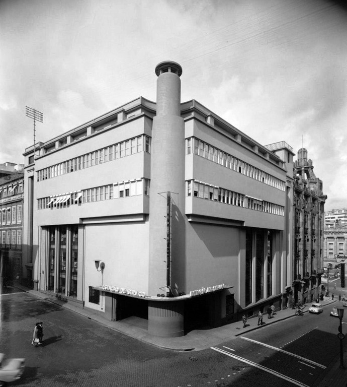 Rogério de Azevedo, Garagem Comércio do Porto, Oporto, Portugal, 1932