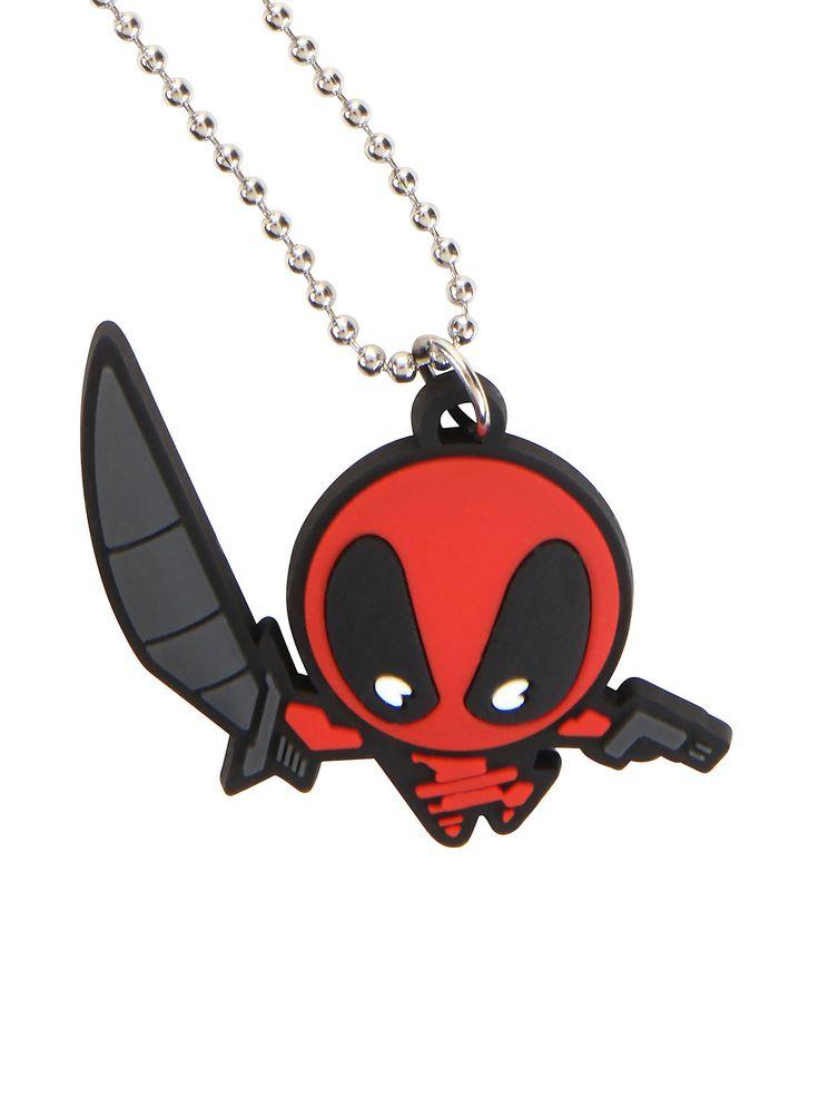 Marvel Deadpool Kawaii Necklace   Hot Topic