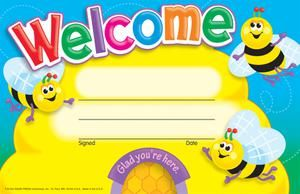Welcome (Bees) Recognition Awards