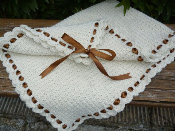 Baby blanket/Crochet bedding/Alpaca by HeartMadeByMarina on Etsy
