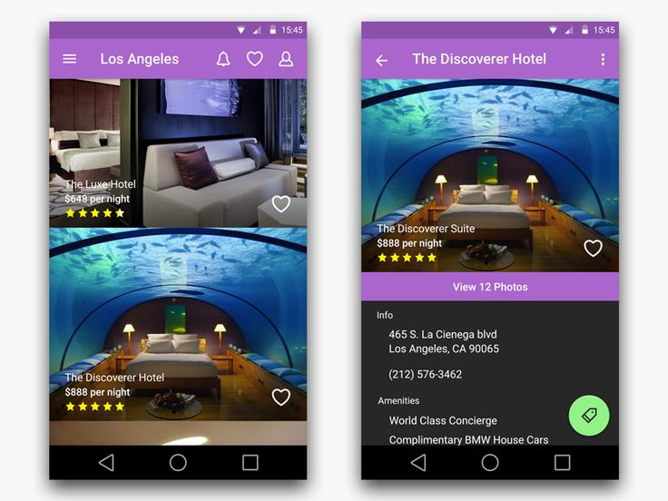 Hotel Search App Android