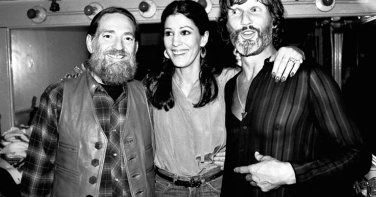 Willie Nelson, Rita Coolidge and Kris Kristofferson together in 1979.