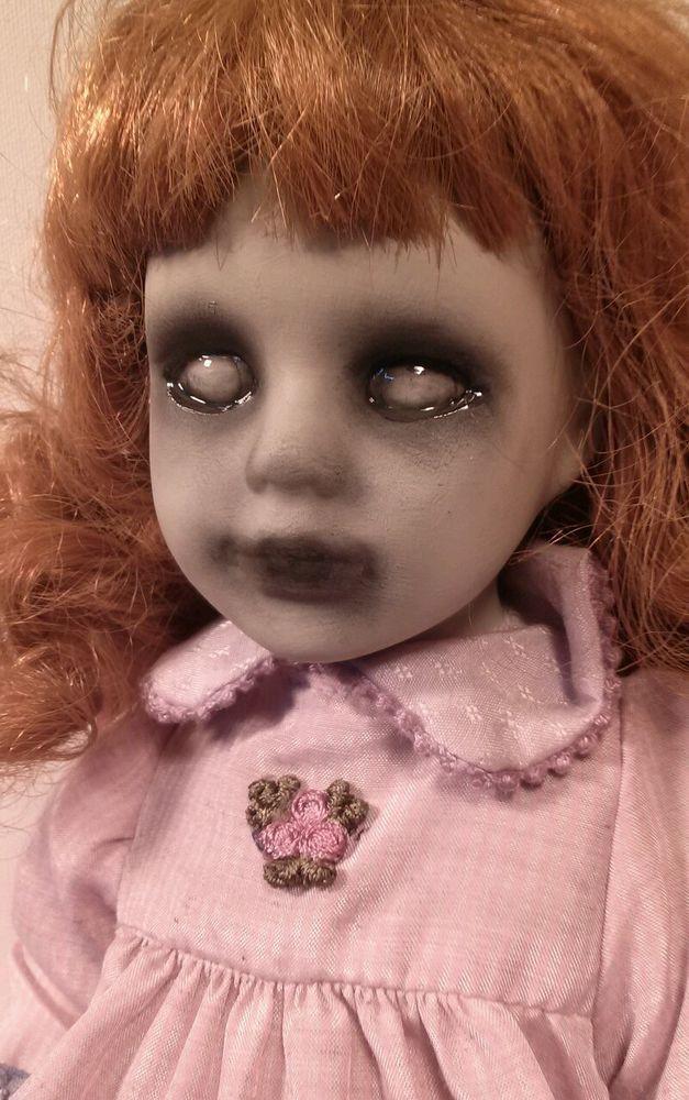 Bizarre Dolls; Ruby; OOAK; Reborn; Horror; Gothic; Porcelain;