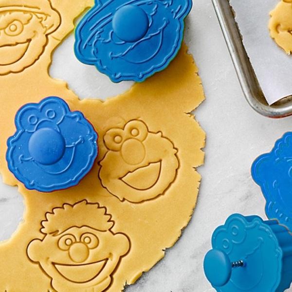 sesame street cookies cutters