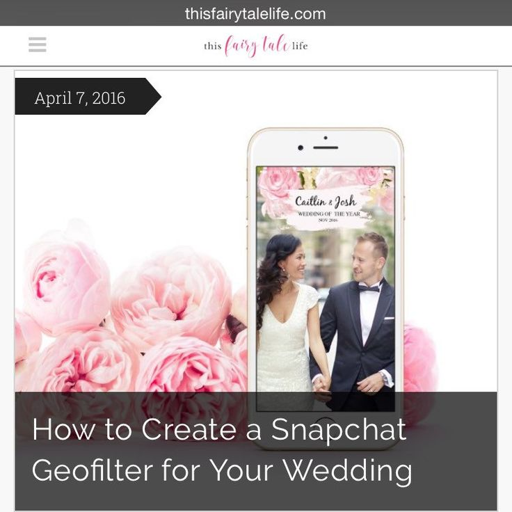 15 best images about little details on pinterest wedding light blue and brides for How to make a free snapchat geofilter
