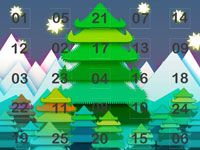 Online Advent Calendar Template slide3 Something similar, but use the boxes to create the tree