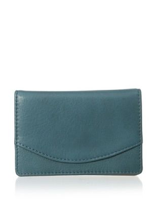 48% OFF Tusk Women's Donington Napa Business Card Holder (Teal)