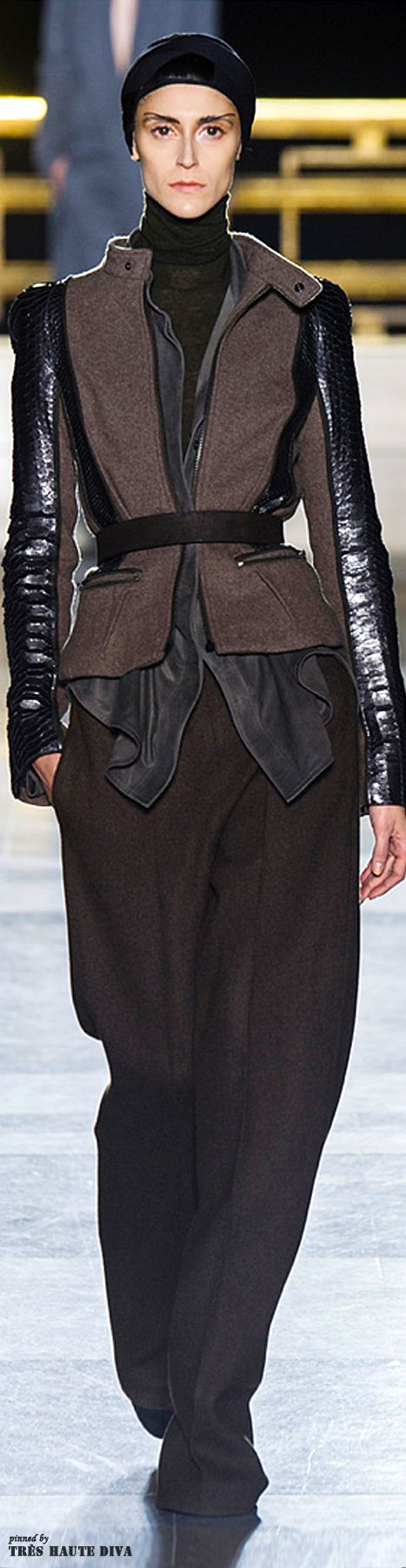 #Paris Fashion Week Haider Ackermann Fall 2014 RTW