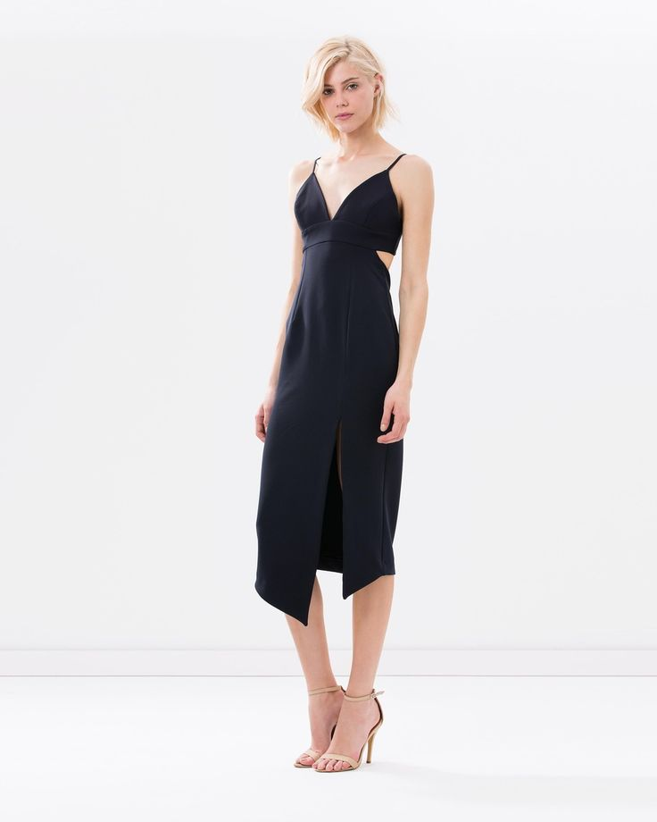 Scuro Cocktail Dress with Back Cut-Out by Shona Joy. Tap image to see more at THE ICONIC.
