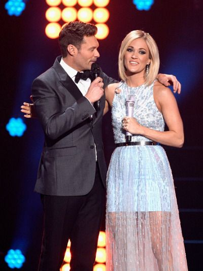 Carrie Underwood at the American Idol finale @blownxawayx94