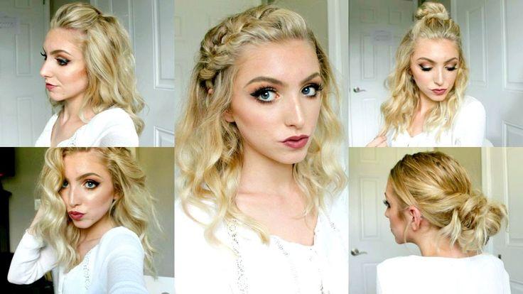 5 Fall Hairstyles for Short/ Medium Hair