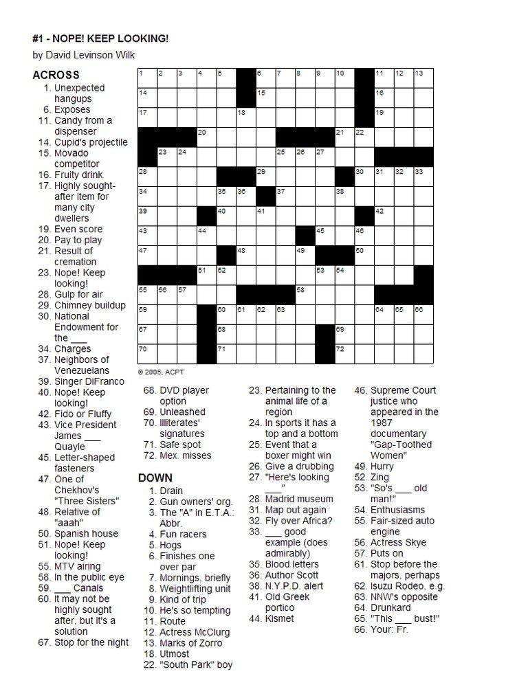 The 25+ best Printable crossword puzzles ideas on