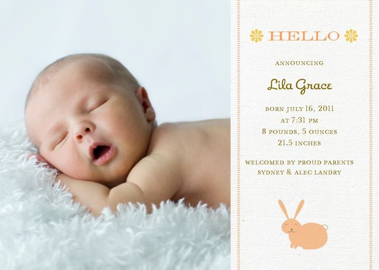 73 best Pregnancy and Birth Announcement Ideas images – Online Baby Birth Announcements