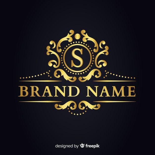 Download Golden Elegant Logo Template For Companies For Free Elegant Logo Logo Templates Design Studio Logo