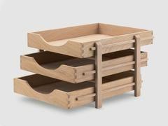 Oak Desk Letter Tray – Present & Correct
