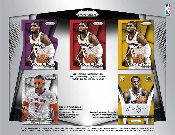 2014-15 Panini Prizm Basketball Hobby Box
