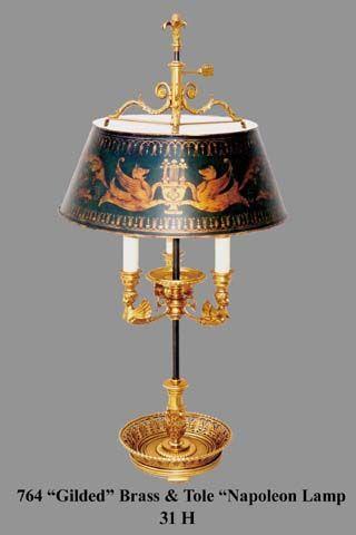 86 best Bouillotte images on Pinterest | Lamp light, Antique ...
