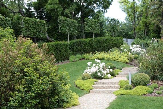 66 best images about slope garden on pinterest gardens for Gartengestaltung cottage