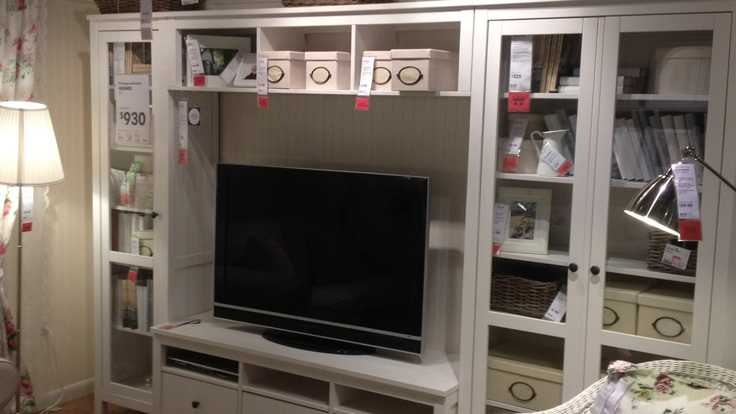 Hemnes Dresser As Tv Stand : Hemnes TV Storage  Home Dreams  Pinterest  Tv Storage, Hemnes and