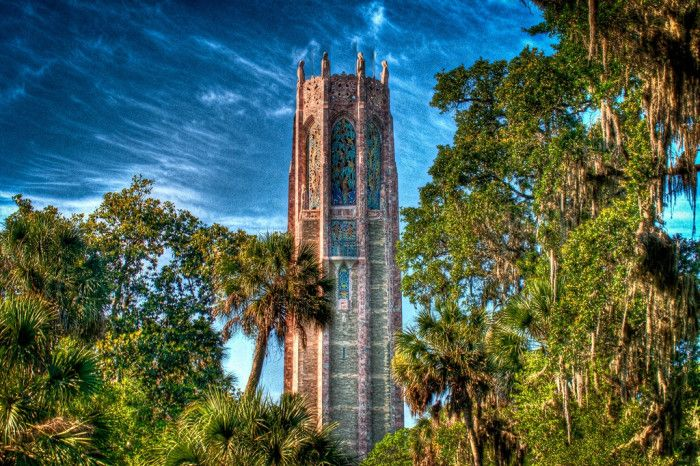 18 Hidden Gems in Florida            1. Bok Tower Gardens in Lake Wales, FL
