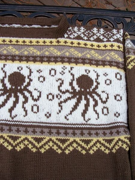 Octopus Knitting Chart : Deer knitting chart bead knitter gallery december