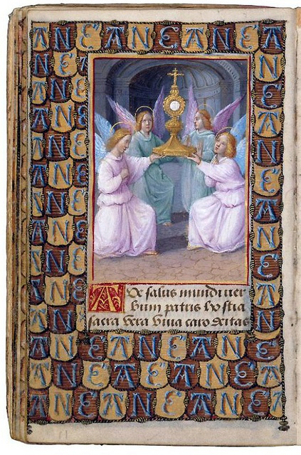 This Prayer Book Was Commissioned By Anne De Bretagne Wife Of Two Successive Kings