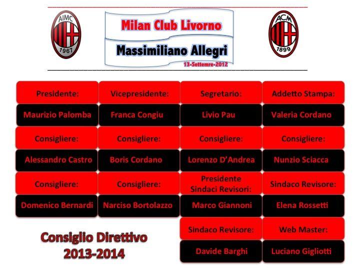 DIRETTIVO CLUB 2013-2014