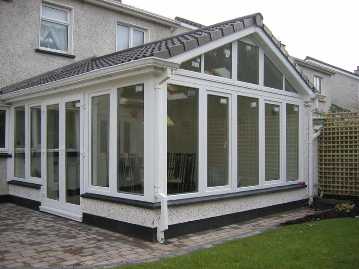 51 best sunrooms images on pinterest sunroom ideas for Enclosed front porch house extension
