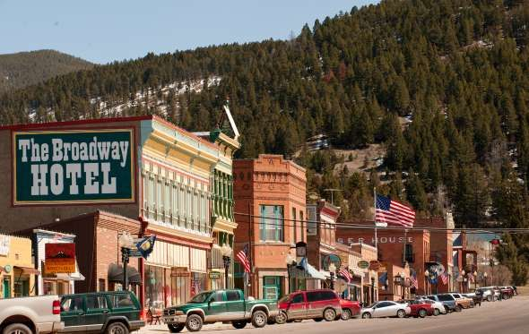 Montana: The 19th century mining town of Philipsburg in southwest Montana still proves to be a gem f... - Donnie Sexton, Montana Tourism