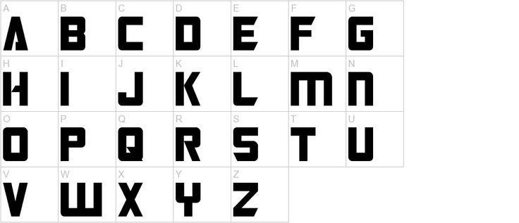 Free Fonts - Transformers font   UrbanFonts.com