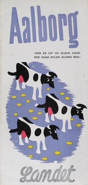 Aalborg er kendt for liv og glade dage, som denne folder lader ane.