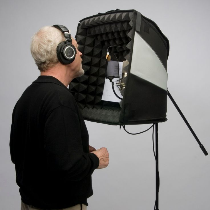 Voice Over Essentials - Portable Sound Booths Recording Studio, Voice Over Microphone, Portable Sound Booth Autographed Books, DVD, CD, Home Recording Equipment, Voiceover Microphone
