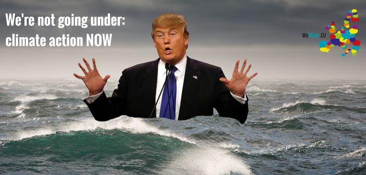European Parliament: dump Trump, save climate!