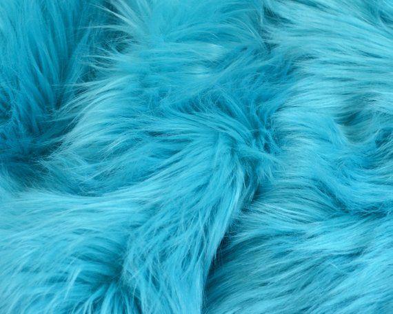 SWISS DARK RED Super Luxury Faux Fur Fabric Material