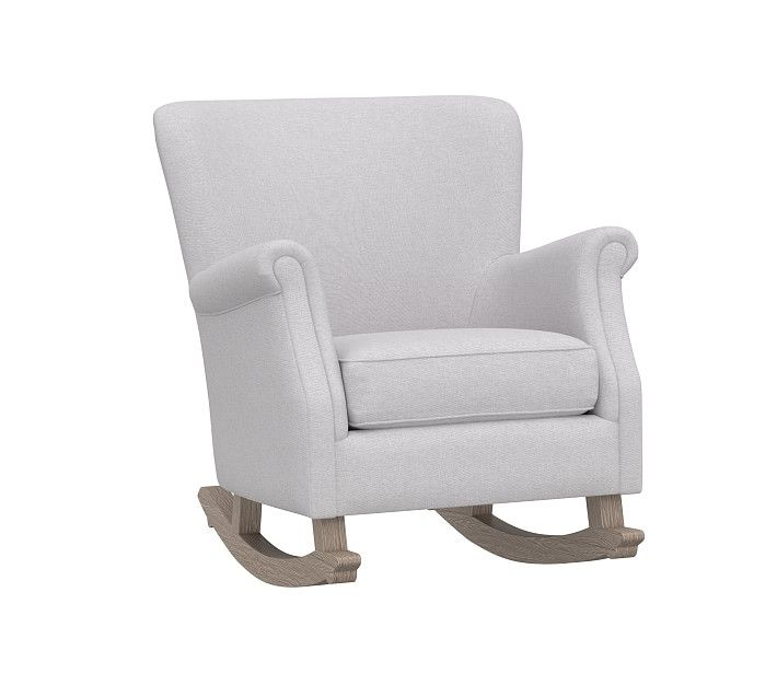 Minna Small Spaces Rocking Chair Ottoman Pottery Barn Kids In 2020 Rocking Chair Comfy Rocking Chair Chair And Ottoman