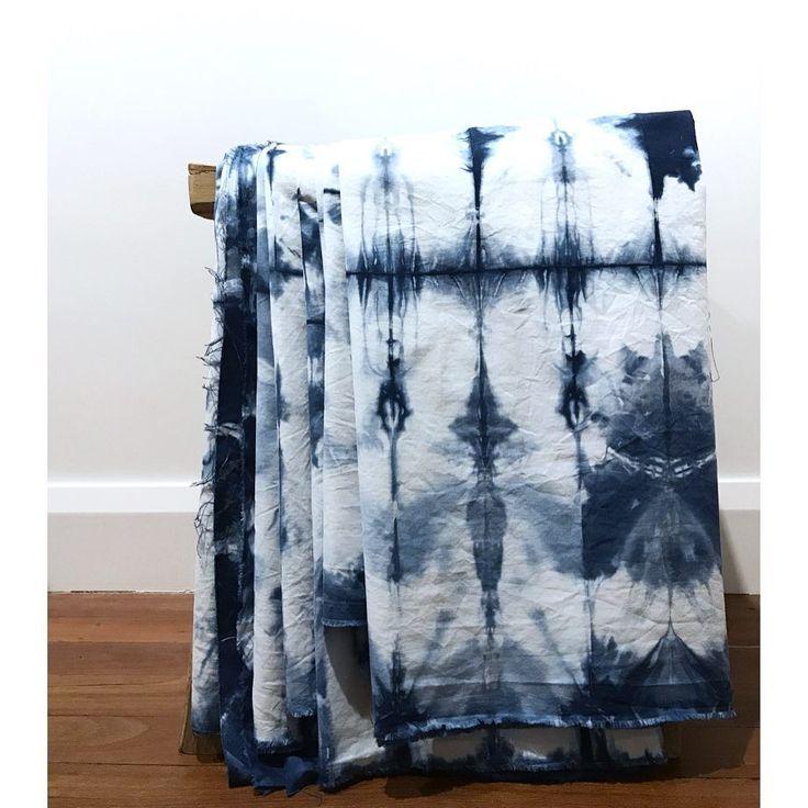 """107 Likes, 3 Comments - KARMME (@karmmehq) on Instagram: """"Late night shibori gazing while ironing 💙 . #karmme #shibori #pattern #indigo #linings…"""""""