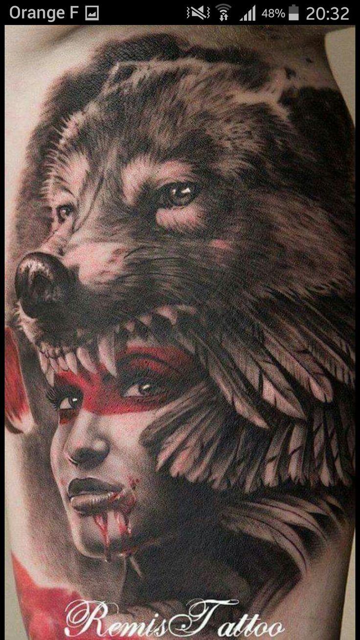 3d tattoos that will boggle your mind bizarbin - 25 Native American Tattoo Designs
