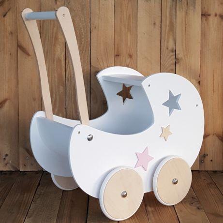 PERSONALIZED PRAM - baby walker - wooden pram ...