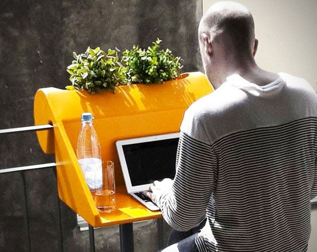 Enjoy your balcony even if you're working