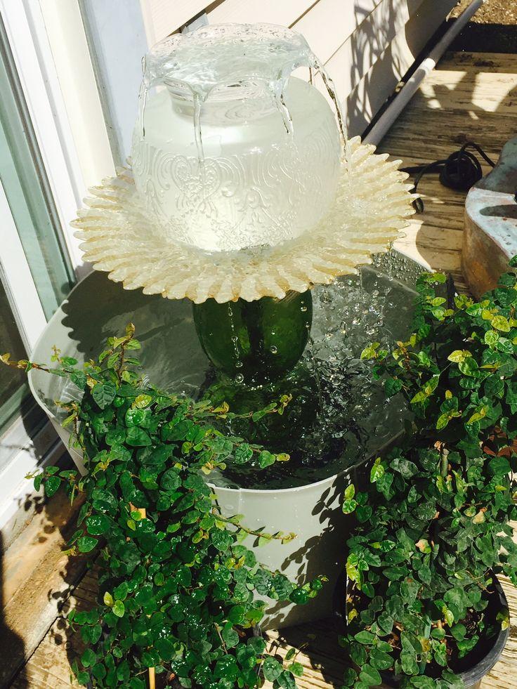 Best 25 Homemade Water Fountains Ideas On Pinterest Diy
