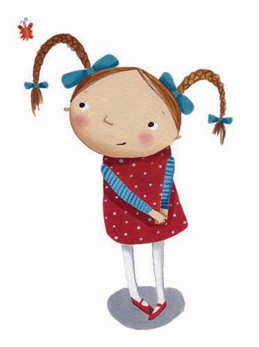 Miriam Latimer Illustration - miriam latimer, acrylic, paint, painted, traditional, commercial, picture book, picturebook, sweet, children, girls, people